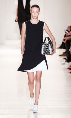 Victoria Beckham SS14 Show At New York Fashion Week, 2013