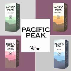 """WE WINE AND YOU? on Instagram: """"Te presentamos a PACIFIC PEAK, un vino🍷que al probarlo, te refrescará💦 con sus notas frutales🍇🍏. . . Son el match perfecto💘 para compartir…"""" Box Wine, Instagram, Report Cards"""