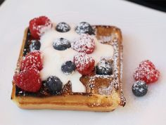 July 4th Grilled Waffles Recipe