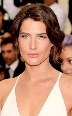 Cobie Smulders from Beauty Police: Met Gala 2014 | E! Online