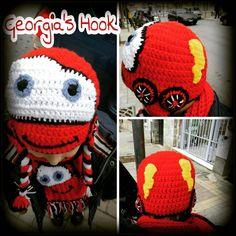 """15 """"Μου αρέσει!"""", 1 σχόλια - Georgia's Hook (@georgias_hook) στο Instagram: """"#McQueen_hat #McQueen_scarf #McQueen #crochet_McQueen #crochet #crochet_hat #crochet_scarf…"""" Mcqueen, Georgia, Queen Hat, Crochet Hats, Instagram Posts, Knitting Hats"""