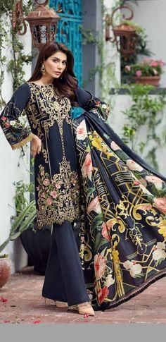 Black is always fav Pakistani Fashion Casual, Punjabi Fashion, Pakistani Outfits, Indian Outfits, Indian Fashion, Style Fashion, Stylish Tops, Stylish Dresses, Cute Dresses