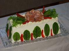 Herkullinen kinkkuvoileipäkakku 1,5 l vuokaan - Leena-muori leipoo - Vuodatus.net - Cake, Desserts, Painting, Food, Tailgate Desserts, Deserts, Kuchen, Painting Art, Essen