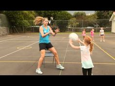 Silver Ferns Captain Casey Williams shows some netball skills and training tips for kids. You Fitness, Fitness Goals, Health Fitness, Netball Coach, 30 Day Abs, Silver Fern, Training Tips, Ferns, Kids And Parenting