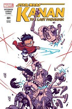 Star Wars: Kanan - The Last Padawan #1 - Variant cover by Skottie Young