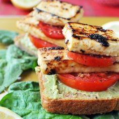 Tomato & Lemon Tofu Sammies