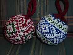 DK/Sport: Christmas Balls pattern by Mary Ann Stephens