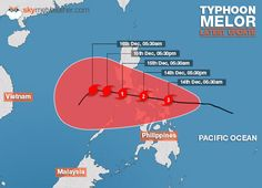 Take a look at the latest news, updates and impacts of Typhoon Melor also known as Nona Weather News, Global News, Pacific Ocean, Philippines, Earth, Content, How To Make, World