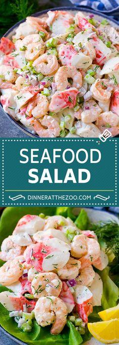 seafood-salad-recipe-shrimp-salad-recipe-crab-salad-salad-shrimp-crab-se/ - The world's most private search engine Sea Food Salad Recipes, Fish Recipes, Healthy Recipes, Best Crab Salad Recipe, Recipes Using Salad Shrimp, Seafood Salad Sandwich Recipe, Crab Salad Dressing Recipe, Fruit Recipes, Summer Salads