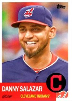 2016 Topps Archives #38 Danny Salazar Front