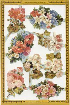 Vintage Floral Scraps