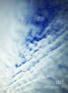 A Rent In The Sky Photograph by James Aiken - A Rent In The Sky Fine Art Prints and Posters for Sale #photography #jamesaiken #clouds