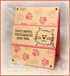 FS419 Don't Worry by StampingQueenJAR - Cards and Paper Crafts at Splitcoaststampers