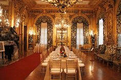 Dining Room: Marble House, newport - Google Search