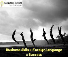 Business skills plus foreign language skills make an employee more valuable in the marketplace. We teach you how at www.ilanguagesinstitute.com #Foreignlanguage #Translation #Ilanguage #visaconsultancy #Languageexperts #Translators #vadodara #Businessskills #marketplace