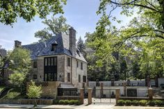 2446 Belmont Road NW Washington DC - Obamas New Home - Exterior Side