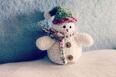 Ravelry: Cutest Snowman pattern by Lisa van Klaveren