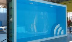 Plastový bazén Prince, hranatý