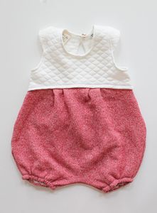 """Image of """"Prim"""" Romper Red {Limited Edition}"""