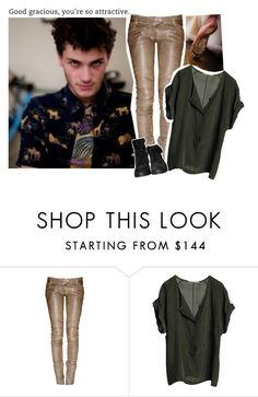 """& — Ootn"" by nightmcre ❤ liked on Polyvore featuring Balmain, Graumann and Zara"