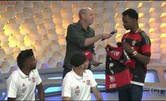 Rodinei reencontra sua camisa e conhece torcedor - Globo Esporte 08/05