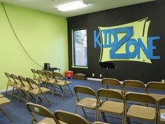 KidZone - Children's Church Room @The Rock Church by Old Shoe Woman, via Flickr
