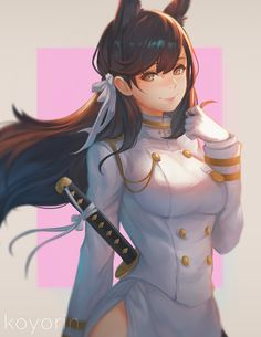 Atago, Koyori n on ArtStation at https://www.artstation.com/artwork/Pxa2L