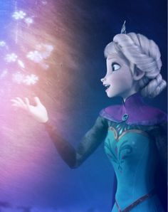 Elsa - Let it Go, from the new Disney movie Frozen. by basicallyfrozen.tumblr.com