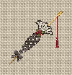parasol in cross stitch Tiny Cross Stitch, Cross Stitch Charts, Cross Stitch Designs, Cross Stitch Patterns, Ribbon Embroidery, Cross Stitch Embroidery, Embroidery Patterns, Cross Stitch Pictures, Crochet Cross