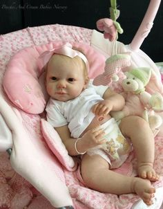 Brand New 'CAMILLE' Reborn Doll Kit By Ann Timmerman