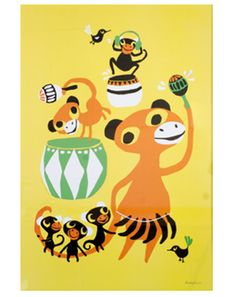 Poster BONGO PARTY (50x70)