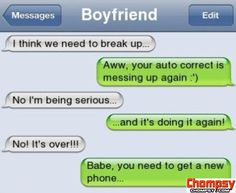 iPhone SMS  The Awkward Moment When