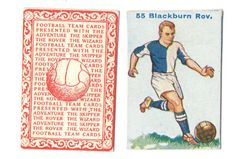 FOOTBALL PICTURE COMIC CARD 55 BY  DC THOMPSON SHOWING BLACKBURN ROVERS c1934 ie.picclick.com