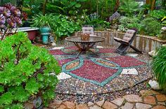 Stone Art Blog: Jeffrey Bale's Mosaic Pilgrimage, a labour of love...