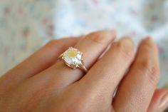2.5 Carat Brilliant Round Cut Opal White Quartz by TigerGemstones