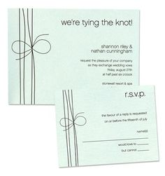 Casey Wedding Invitations by MyGatsby.com