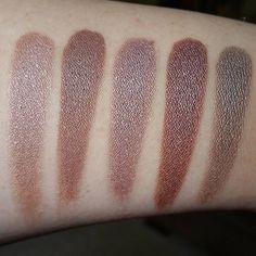 Cocoa diamond and Mai Tai swatch. (Coastal scents hot pots L-R: sandstorm, cocoa diamond, mai tai, southern wood, bazaar) Makeup Trends, Makeup Inspo, Makeup Inspiration, Beauty Skin, Beauty Makeup, Eye Makeup, Makeup 2016, Coastal Scents, Best Drugstore Makeup