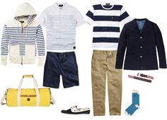 Nautical Summer style - the Lyle and Scott way.