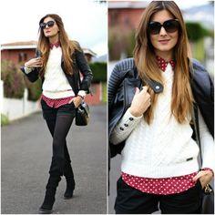 Trendtation.com : look-Marianela Hdez @Trendtation #trendtation #marilynscloset #fashionblogger #dots  http://marilynsclosetblog.blogspot.com.es/2014/03/pop-dots.html