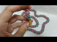 "Комплект украшений ""Полянка"" /A set of jewelry ""Glade"" - YouTube"