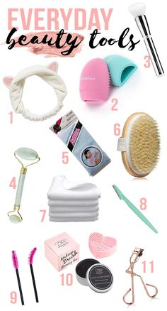 """All about my favorite """"everyday"""" beauty tools - THIRTEEN THOUGHTS"""