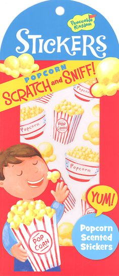 Popcorn Scratch & Sniff! Stickers | Main photo (Cover)
