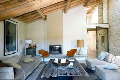 a renovated barn in the provence | THE STYLE FILES