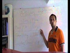 Artículos indefinidos spanishfspain