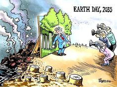 Earth Day, 2035... #World #Resources #Extinct