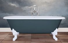 Traditional roll top baths made from copper, cast iron and brass, complemented with our range of bathroom accessories. Cast Iron Bath, Copper Bath, Roll Top Bath, Clawfoot Bathtub, Bathroom Accessories, Traditional, Classic, Home, Derby