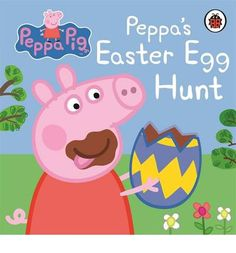 Happy Easter Bebe From Peppa Pig And Little Brother