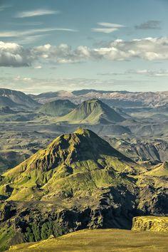 Þórsmörk Valley In Iceland