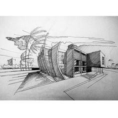 By @fahimehba #sketch_arq #architecture #design #ideas #architecturestudent #アーキテクチャ #arquitectura #Architektur #sketch #instadaily #drawing #modern #art #modern #follow #architec #architecturesketch #architectureporn