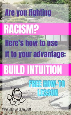 Racism in America is due to the ignorance of those who practice it. Aesthetics are changing - caring is the new cool. Racism isn't pretty, but you can use it to develop your intuition. Attract a better life with positive thoughts.